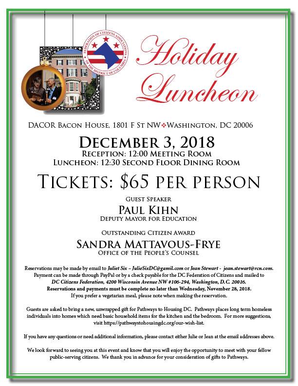 2018 DACOR Luncheon Invite
